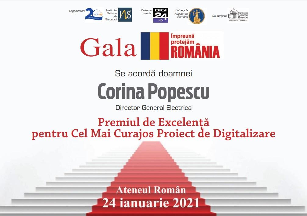 corina popescu diploma